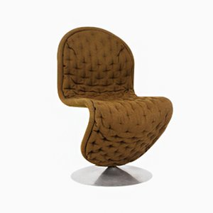 Dänischer Vintage 123 Sessel von Verner Panton für Fritz Hansen