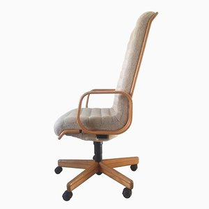 Executive Desk Chair by Martin Stoll for Giroflex, 1970s