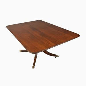 Antique Mahogany Snap Top Breakfast Table