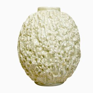Vintage Schamotte Vase von Gunnar Nylund für Rörstrand