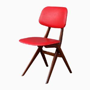 Vintage Teak Stuhl von Tijsseling für WéBé