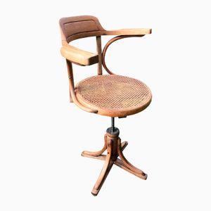 Antiker Schreibtischstuhl von Kohn