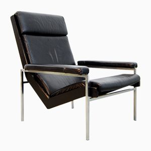 Mid-Century Dutch Lotus Lounge Chair by Rob Parry for Gelderland, 1960s