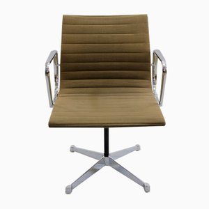 Vintage EA 107 Armchair by Charles & Ray Eames for Herman Miller