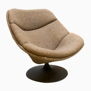 F519 Draaistoel Swivel Lounge Chair by G. Harcourt for Artifort