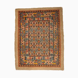 Antique Persian Camel Hair Hand-Made Rug, 1900s