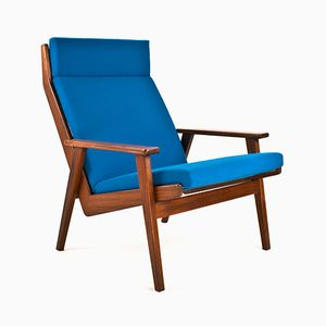 Lotus Teak Lounge Chair by Rob Parry for Gelderland, 1960s