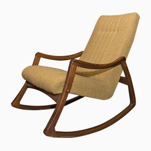 Rocking Chair Vintage Tchèque en Bois Courbé par TON, 1970s