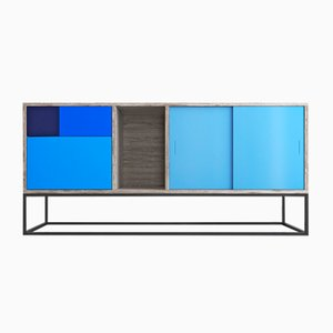 Blue Real Sideboard by Studio Deusdara