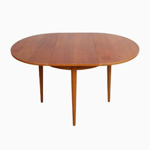 Small Vintage Dining Table from Lübke