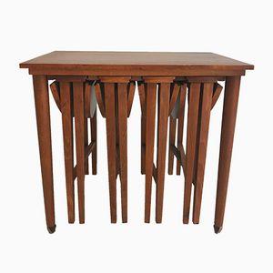 Vintage Nesting Side Tables, 1960s