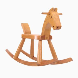 Scandinavian Rocking Horse from Kay Bojesen, 1950s