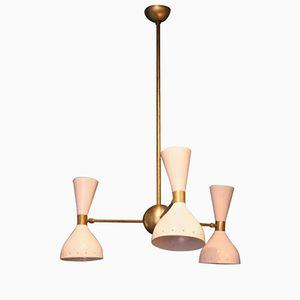 Italienische Deckenlampe mit Diabolo Leuchten