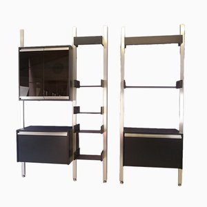 French Adjustable Double Shelf by Michel Ducaroy for Ligne Roset, 1970s