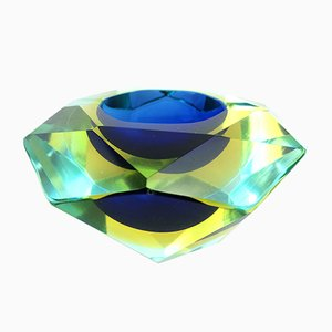 Italian Murano Glass Ashtray from Mandruzzato, 1960s