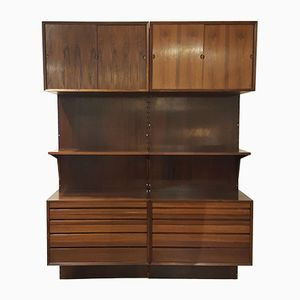 Vintage Wall Unit by Poul Cadovius for Royal System