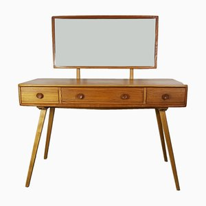 Dressing Table & Mirror by Lucian Ercolani for Ercol, 1960s