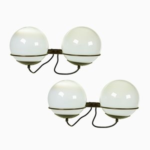 Italian B519 Sconces from Candle, 1960s, Set of 2
