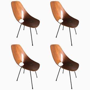 Medea Stühle von Vittorio Nobili, 1960er, 4er Set