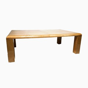 Vintage Model 2576 Goatskin Coffee Table by Aldo Tura