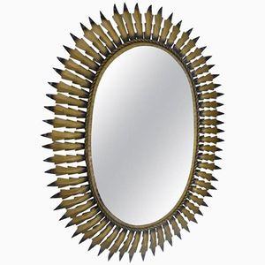 Specchio vintage di Chaty Vallauris, anni '60