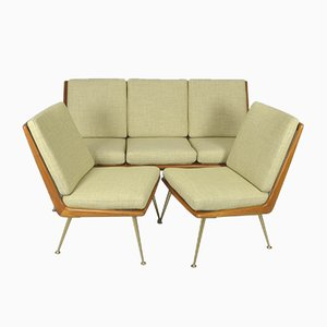 Soloform Living Room Set by Hans Mitzlaff for Eugen Schmidt, 1950s