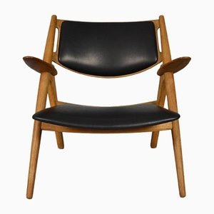 Mid-Century CH28 Sawbuck Chair by Hans J. Wegner for Carl Hansen