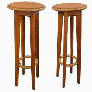 Bar Stools by Adrien Audoux and Frida Minet, 1960s, Set of 2