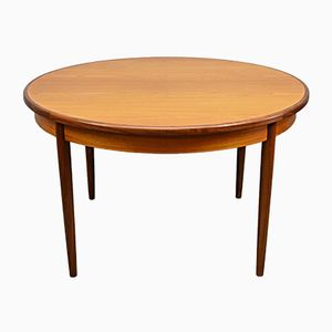 Mid-Century Teak Circular Fresco Extendable Dining Table from G-Plan