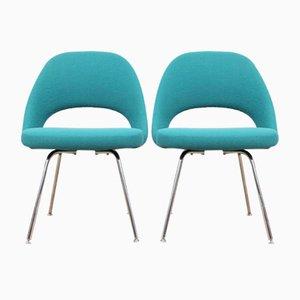 Chaises de Direction par Eero Saarinen pour Knoll, Scandinavie, 1950s, Set de 2