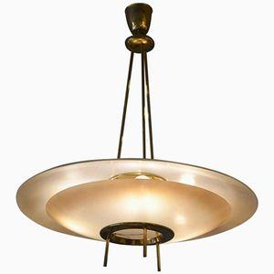 Deckenlampe von Stilnovo, 1960er