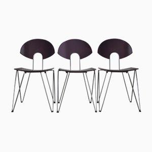 Esszimmerstühle von Kusch + Co, 1970er, 3er Set