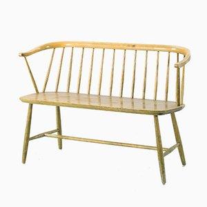 Scandinavian Wooden Sofa from Nesto, 1950s