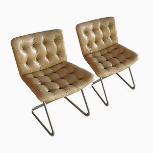 Vintage Modell RH-304 Esszimmerstühle von Robert Haussmann für de Sede, 2er Set
