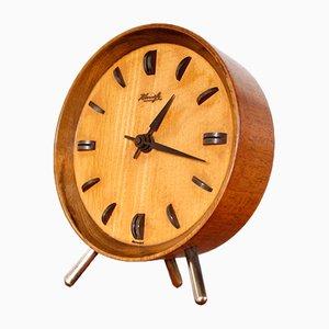 Horloge de Table Trépied Moderniste de Kienzle, 1950s