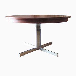 Ausziehbarer Vintage Teak Tisch von Dieter Wäckerlin für Idealheim