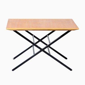 Tavolino da caffè impiallacciato in teak di Charles Sevigny per Knoll International, anni '60