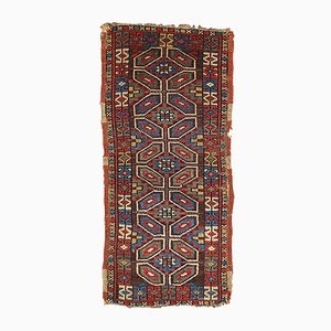 Antique Turkish Yastik Handmade Rug, 1880s