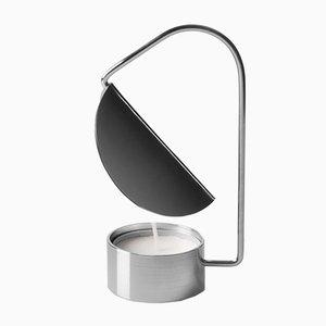 Portacandela in metallo placcato in argento di Tomas Kral, 2016