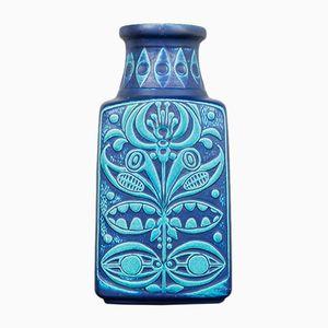 Westdeutsche Fat Lava Vase von Bay Keramik, 1970er