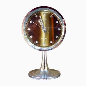 Pedestal Alarm Clock from Rhythm, 1970s