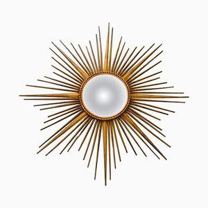 Vintage Sunburst Mirror from Chaty Vallauris, 1960s