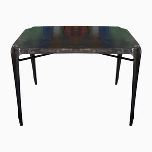 Metal Table by Joseph Mathieu for Multipl's, 1950s