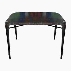 Tavolo in metallo di Joseph Mathieu per Multip'l, anni '50