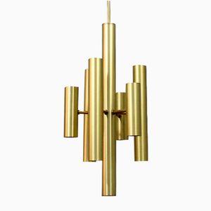 Italian Ceiling Lamp, 1970s