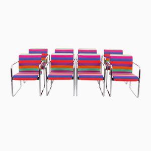 Esszimmerstühle von Peter Protzman & Alexander Girard für Herman Miller, 1960er, 8er Set