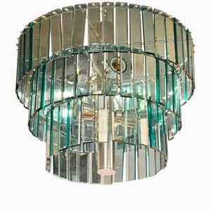Italienischer Murano Glas Kronleuchter, 1970er