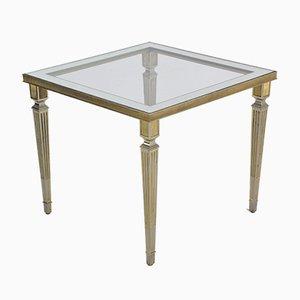 Versilberter Französischer Tisch, 1970er