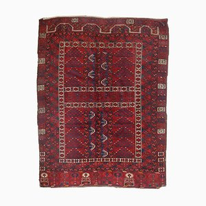 Antique Turkmen Engsi Handmade Rug, 1870s