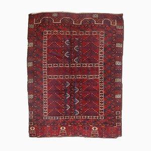 Tappeto antico Engsi fatto a mano, Turkmenistan, fine XIX secolo